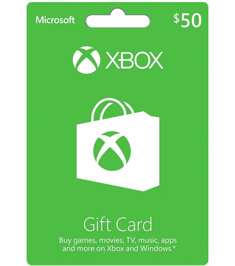 xbox gift card 50 us email delivery mygiftcardsupply - Where To Get Xbox Live Gift Cards