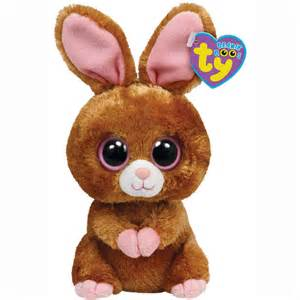 Ty beanie boos hopson the brown bunny at toystop
