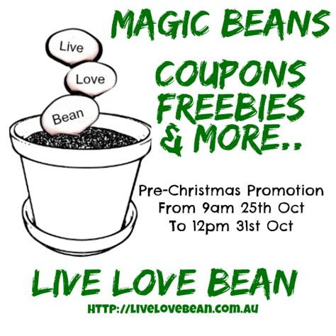 Giveaways And Freebies - pre christmas promotions coupons giveaways and freebies live love bean