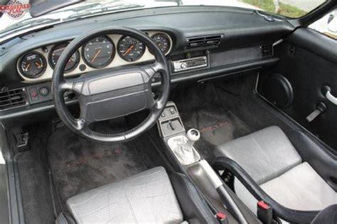 how to fix cars 1994 porsche 911 interior lighting porsche 911 964 speedster 1994 for show by chequered flag international stuttcars com