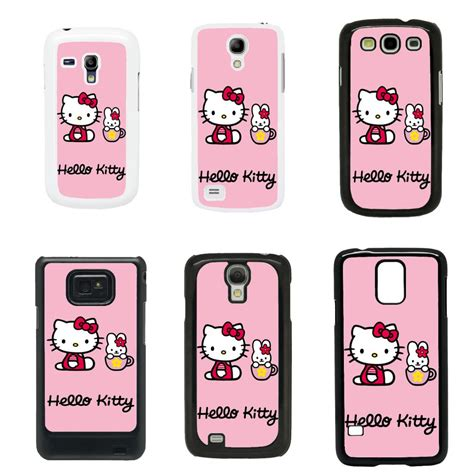 hello kitty themes samsung s3 mini hello kitty cover case for samsung galaxy s2 s3 s4 s5 mini