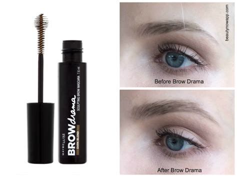 Mascara Maybelline Drama maybelline brow mascara review beautynow