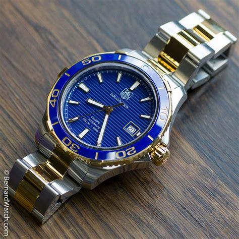 Jam Tangan Tag Heuer Slr 7124 tag heuer aquaracer blue gold