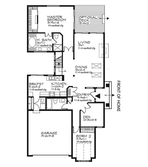 cheerful ranch house plan 22070sl 1st floor master suite cad available corner lot pdf mariedale country cottage home plan 072d 0443 house