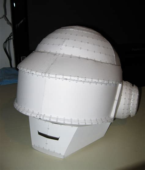 Papercraft Helmet Pdf - daft helmet 2 by vitaminzinc on deviantart