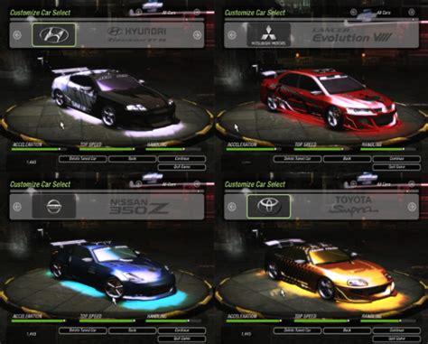 Schnellstes Auto Underground 2 by Blog Zombie 6 Need For Speed Underground 2 For Pc Download
