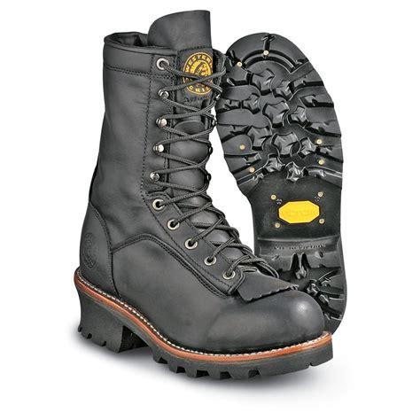 s western chief 174 smokejumper boots black 90794