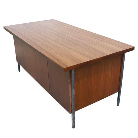 Knoll Desk mid century modern florence knoll wood desk ebay