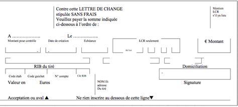 Pr Sentation Lettre De Change Les Effets De Commerce Tce Tsge Dakhla