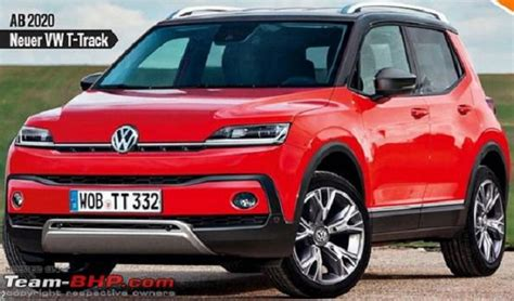 Volkswagen 2020 Lineup 2020 vw t track the smallest crossover in lineup 2020