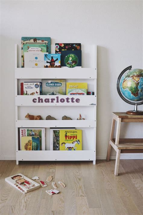 Personalised Tidy Books Bookcase In White Children S Tidy Books Bookcase White