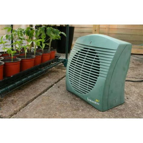 botanico heater affordable greenhouse or shed heater