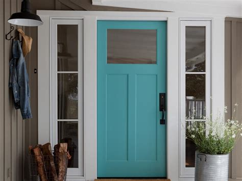 Farmhouse Entry Door by Rustic Farm And Garden Style Front Door Decor Hgtv