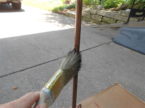how to paint faux copper patina hometalk how to spray paint easy faux copper patina
