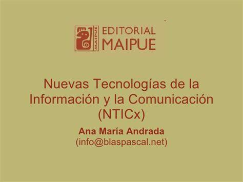libro tecnologa de la informacin libro nuevas tecnolog 237 as de la informaci 243 n y la comunicaci 243 n nticx