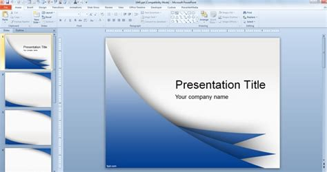 design ideas microsoft powerpoint presentation template free download powerpoint templates