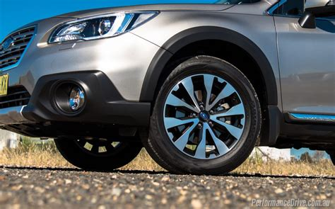 subaru outback wheels 2016 subaru outback 3 6r review performancedrive