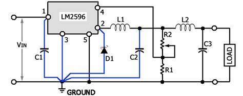 schema elettrico alimentatore switching semplice alimentatore switching
