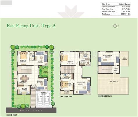 eastpoint green floor plan green icons isle in shamshabad hyderabad price