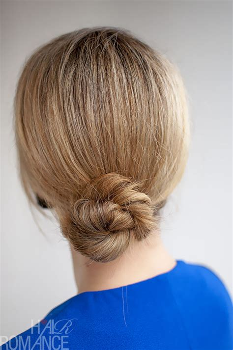 rope twist updo bun hairstyle 30 buns in 30 days day 3 rope twist bun hair romance