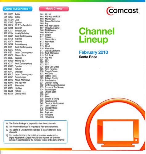 comcast xfinity printable channel guide comcast internet deals san jose lamoureph blog