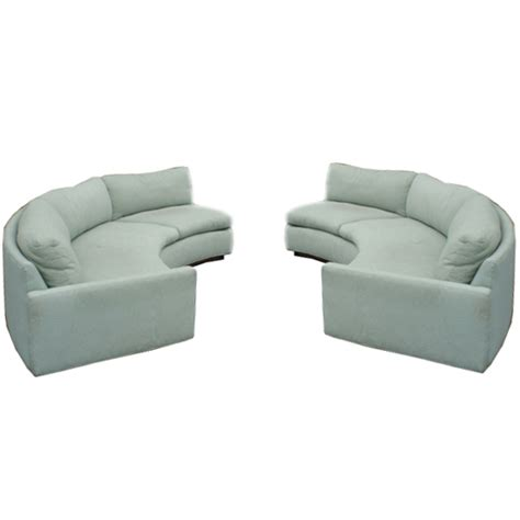 half circle sectional sofa