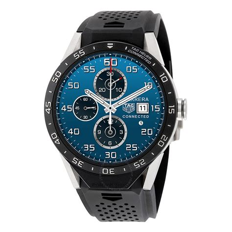 Tag Heuer Connected Titanium Vulcanized Rubber Men's Watch SAR8A80.FT6045   Connected   Tag
