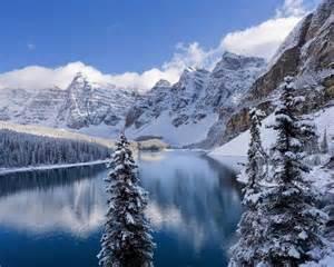 Pinterest Winter Decor - balade dans les rocheuses sous la neige forfait voyage autotour canadaxperience