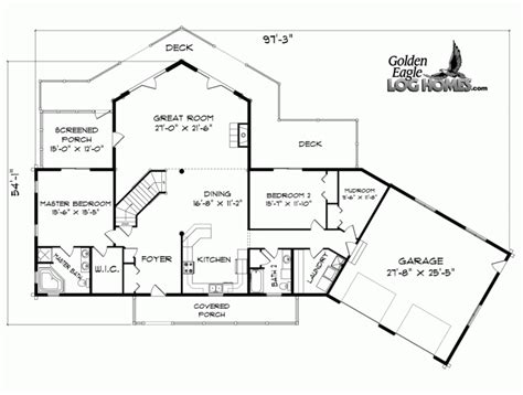 lakefront floor plans cabin plans lakefront woodplans