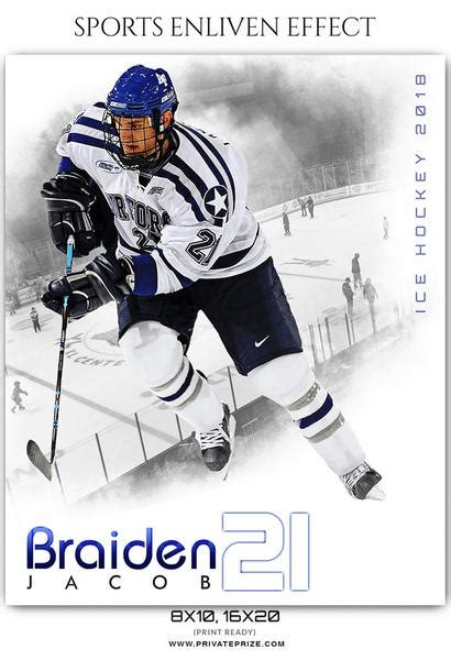 sports templates for photographers braiden jacob hockey sports enliven effects