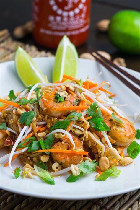 Closet Cooking by Spaghetti Squash Shrimp Pad Thai On Closet Cooking