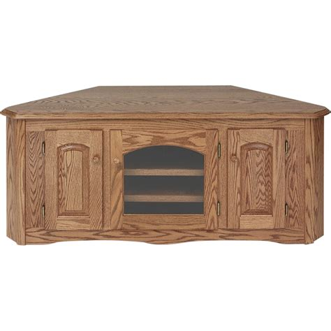 country style tv stands solid oak country style corner tv stand 55 quot the oak