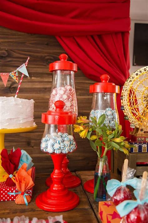 karas party ideas circus carnival baby shower step