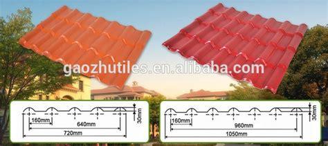 Dachziegel Aus Kunststoff by Baustoffe Kunststoff Dachziegel Mit Haus Pl 228 Ne Alibaba