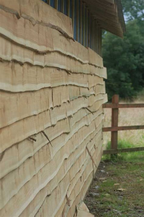 Timber Shed Cladding by Rustic Wooden Cedar Cladding Shed Workshop Refurb