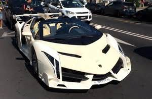 Lamborghini Kit Cars This Lamborghini Veneno Roadster Looks Like A Kit Car