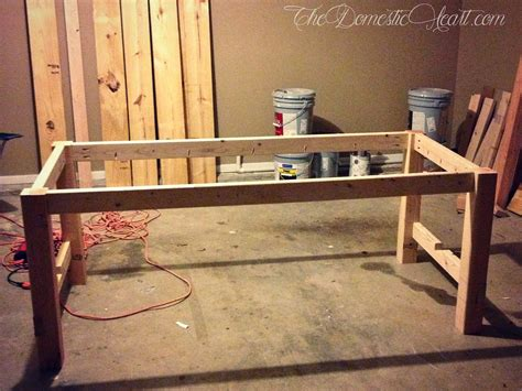 diy farmhouse dining table woodworking project