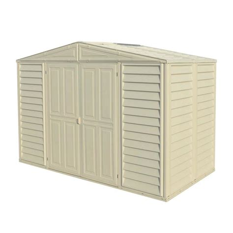 Storage Shed 5 X 10 by Shop Duramax Building Products Common 10 Ft X 5 Ft