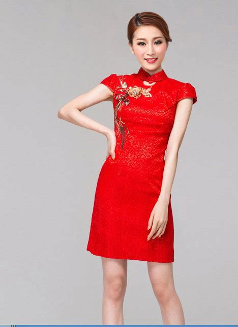 Dress Import China Kode Cc16025 1 baju imlek wanita merah modis terbaru 2015 myrosefashion