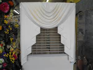 Swag And Valance Curtains Sale Swag And Jabots Window Curtains Any Solid Color