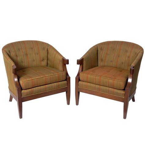 henredon recliners pair of glamorous lounge chairs by henredon for sale at