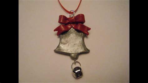 handmade polymer clay christmas ornaments youtube
