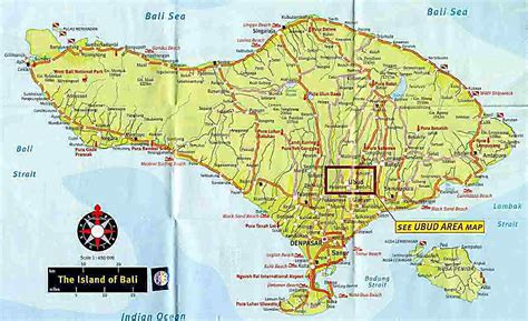 map of bali welcome to bali maps