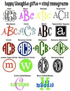 initial fonts for monogram 5 quot circle car monogram other fonts available vinyls circles and car monogram