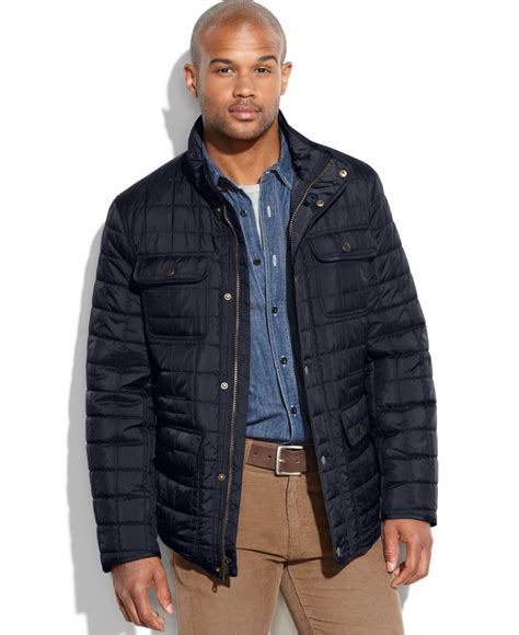 hilfiger big and quilted four pocket field