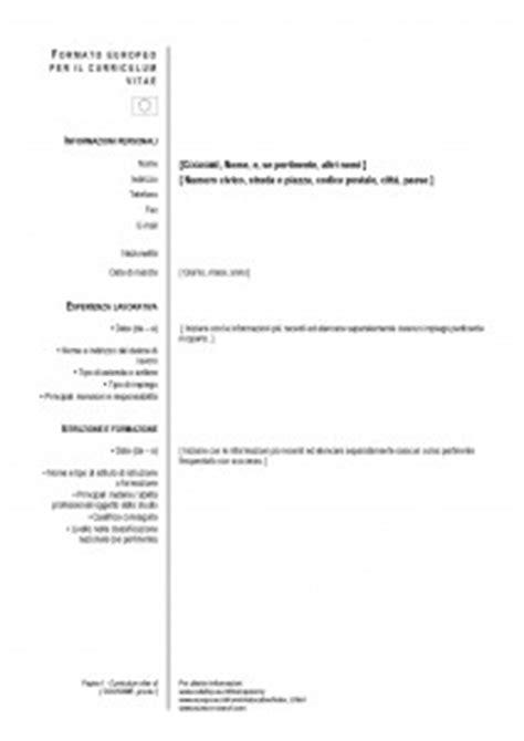 Plantilla De Curriculum Vitae Europass Modelos De Cv El Curr 237 Culum Europeo Modelo Curriculum
