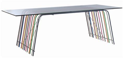 table verre trempe c 233 dric dequidt for roche bobois ferr 233 flodeau