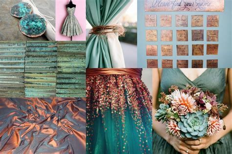 Your Wedding in Colors: Teal and Copper   Arabia Weddings