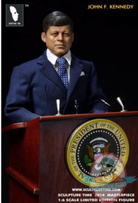 f kennedy figure sculpture time 1 6 scale f kennedy limited edition