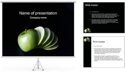apple powerpoint template apple powerpoint template backgrounds id 0000000786
